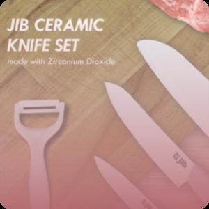 JIB Ceramic Knife Set